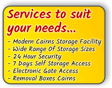 cairns storage